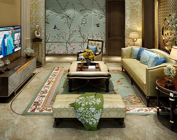 貴州喜百年裝飾公司、新疆輕舟裝飾公司一行蒞臨嵐庭家居參觀學習