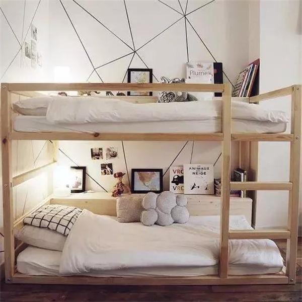 小户型儿童房到底要不要做高低床?